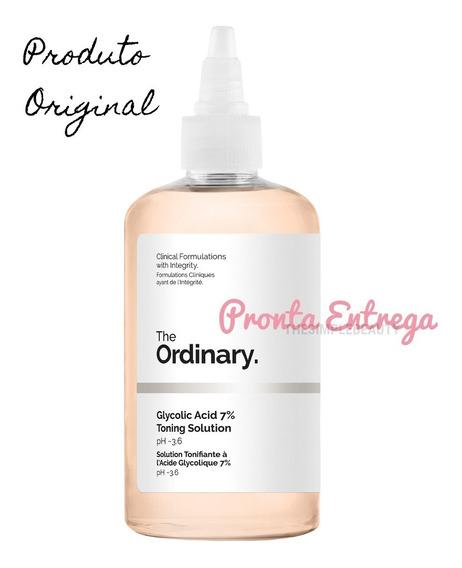 The Ordinary Glycolic Acid 7% - Tônico Ácido Glicólico