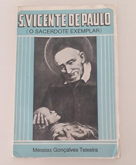 São Vicente De Paulo O Sacerdote Exemplar Livro Do Ano 1979