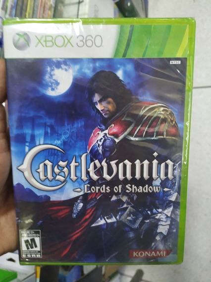 Castlevania Lords Of Shadow 1 Xbox 360 Lacrado Mídia Física