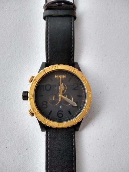 Relógio Nixon 51 30 Black Gold