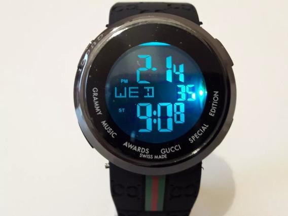 Relógio Digital Masculino Gucci Especial Edição