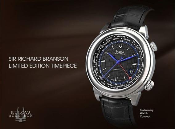 Bulova Accutron Richard Branson