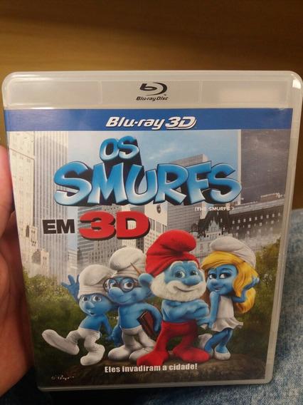 Blu-ray 3d - Os Smurfs Em 3d