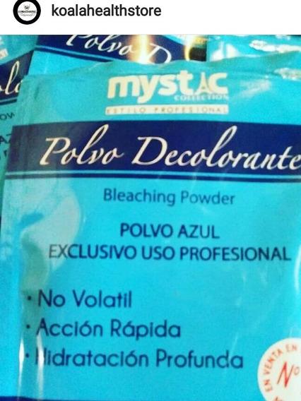 Mystic Polvo Azul Uso Profesional Decolorante 25g 3x500.000