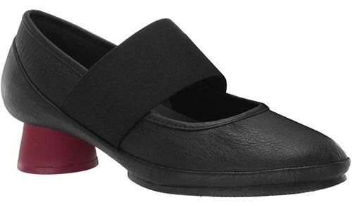 Camper Womens Alright K200485 Zapatos De Cuero Textil