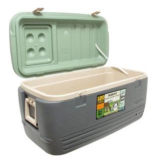 Caixa Térmica 145 Latas Sportsman 95 Litros Verde - Igloo