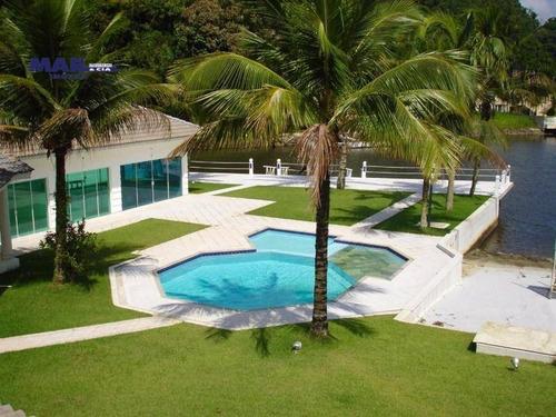 Casa Com 5 Dormitórios À Venda, 1000 M² Por R$ 12.500.000,00 - Marina Guarujá - Guarujá/sp - Ca0470