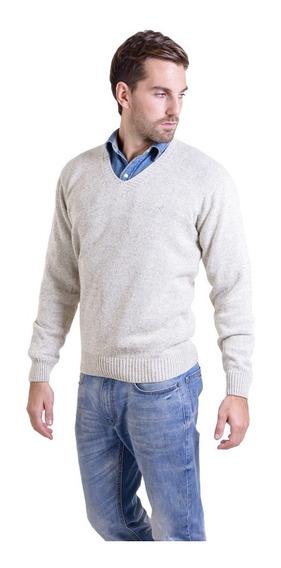 Sweater Escote En V Cardado Mauro Sergio !
