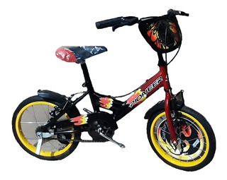 Bicicleta Bmx Pioneer Rodado 20, Raptor-zeta