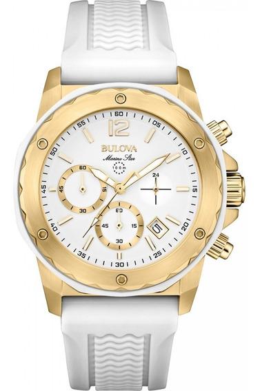 Relógio Bulova Marine Star Ladies Wb38240b / 98m117