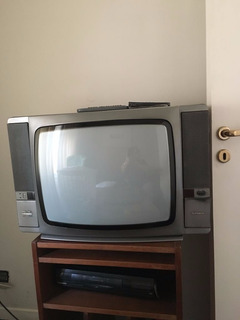 Televisor Telefunken 20 Pulgadas + Video Cassetera Panasonic