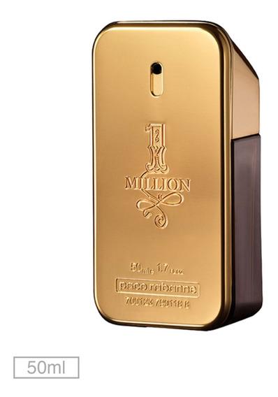 Perfume Paco Rabanne 1 Million Edt 50ml + Amostra Grátis