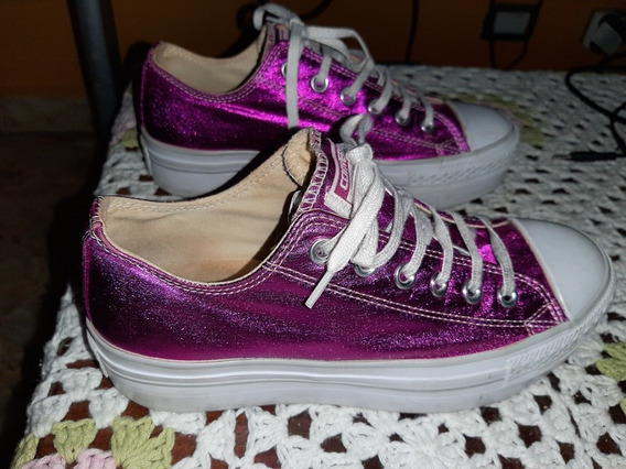 Zapatillas Plataforma All Star Converse Nro 38