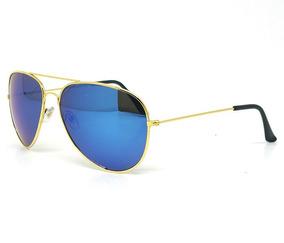 16369606f Espelho Acrílico Azul De Sol - Óculos no Mercado Livre Brasil