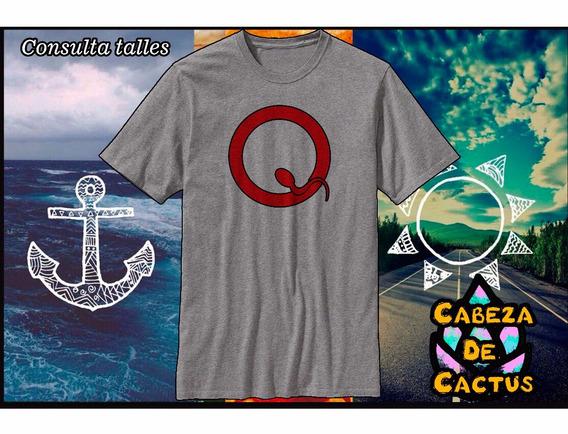 Remera Queen Of The Stone Age Logo Zona Oeste