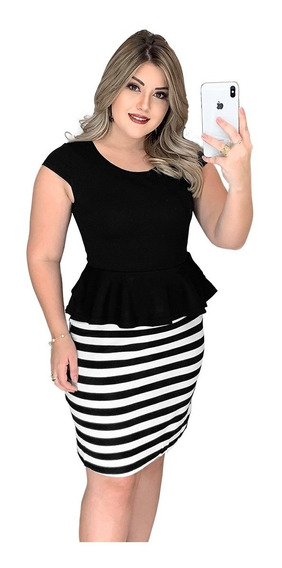 Roupas Femininas Baratas Vestidos Femininos Peplum Estilo Conjunto Conjuntinho Preço Fabrica Listrados 2729