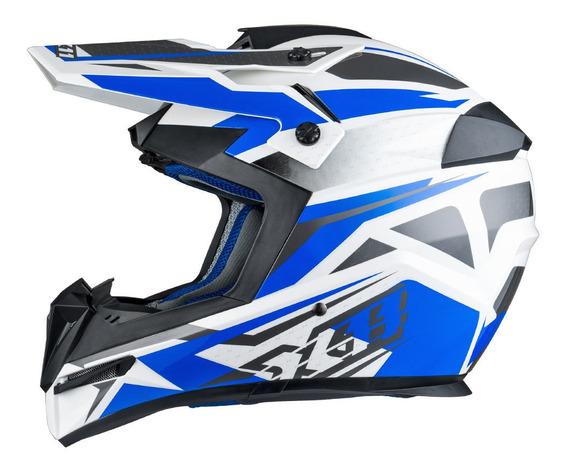 Capacete X11 Atomic Bull Motocross Trilha Cross Motoqueiro