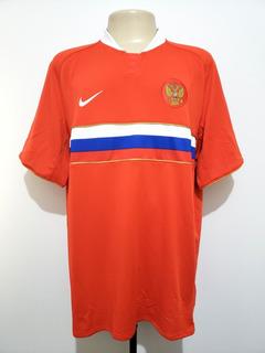 Camisa Futebol Oficial Seleção Rússia 2008 Away Nike Tam Ggg