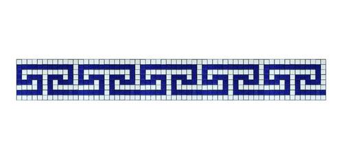 Imagen 1 de 1 de Cenefa En Mosaico Veneciano Maya (2) Metro Lineal