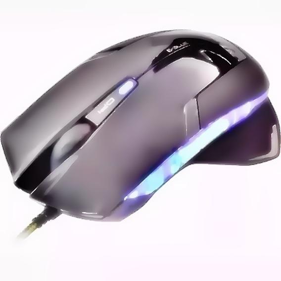 Mouse Gamer Optico 1600dpi Gaming Sensor Com Led Iluminado