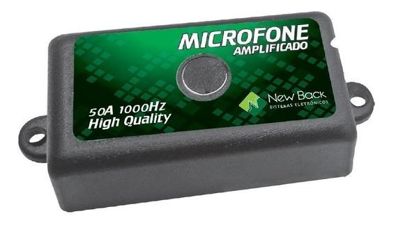 Mini Microfone Profissional Cftv Sistema Equalizado