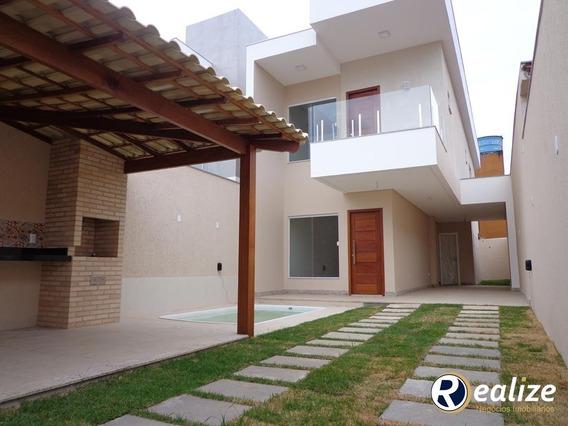 Casa À Venda Com 3 Suites, Parcelado Em Até 60x Diretamente E Área De Lazer Completa - Pm175 - 33341879