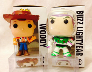 Funko Pop Figura Toy Story Woody - Buzz Lightyear - Dragon