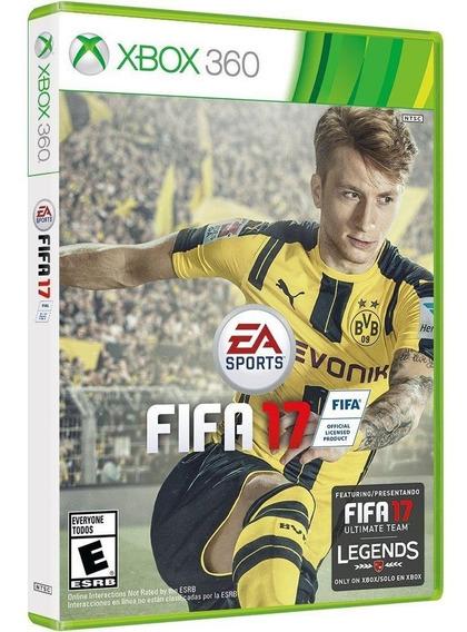 Fifa 17 Xbox 360 | Mídia Física Original