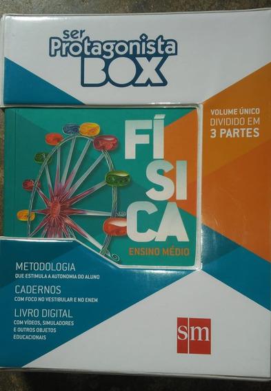 Livro-box Ser Protagonista: Física-ensino Médio-vol. Único