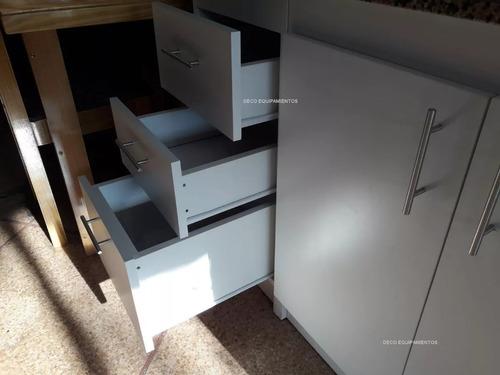 Mueble Cocina Bajo  Mesada 1.60 Mas Granito Macizo.armado