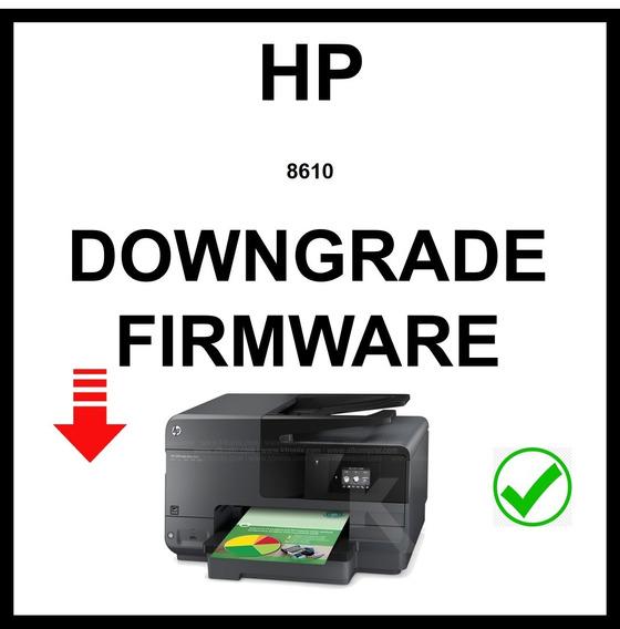 Downgrade Firmware Hp 8610 Y Mas ...
