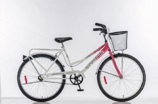 Bicicleta Rodado 26 Paseo Dama 3577 Futura Kromo-s