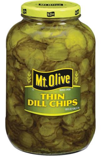 Pepinillos Mt Olive Kosher Dills En Rodajas Divinos Lo Mejor