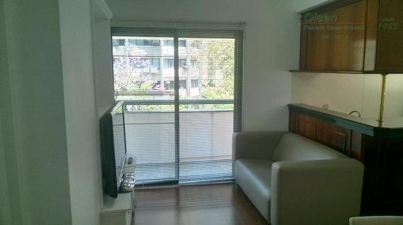 Flat Com 1 Dormitório À Venda Ou Locação, 40 M² - Itaim Bibi - São Paulo/sp - Fl0025