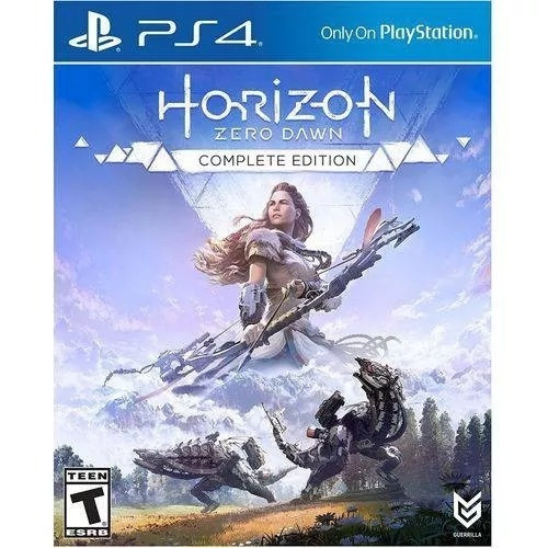Horizon Zero Dawn Ps4 Complete Edition Mídia Fisica