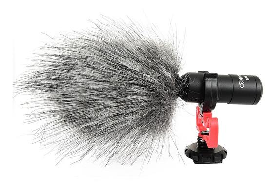 Microfone Direcional Shotgun Câmera Dslr Sony Nikon Canon !