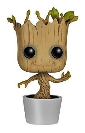Funko Pop! Marvel: Dancing Groot Bobble Figura De Acción