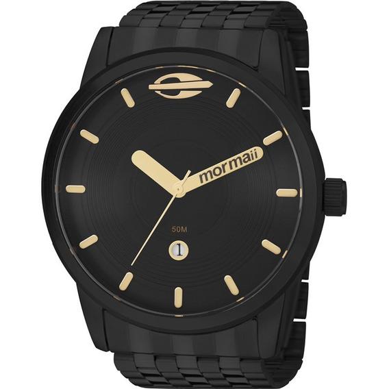 Relógio Mormaii Maui Masculino Preto Mo2115aa/4p Lançamento