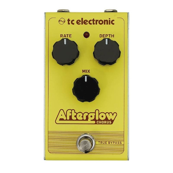 Pedal P/ Guitarra Afterglow Chorus Tc Electronic True Bypass