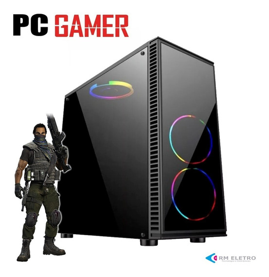 Cpu Gamer Amd A6-7480 4gb/120ssd/450w Video Radeon R5 Wifi