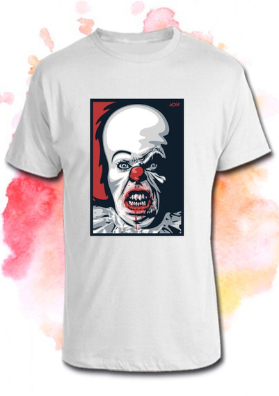 Remera Payaso Pennywise It - A Full Color
