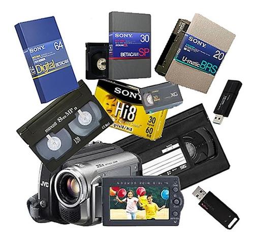 Digitalizamos Betacam - Dvcam - Hi8 - Vhs - Minidv - U Matic