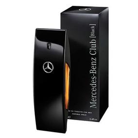 Perfume Mercedes Benz Club Black Masculino Edt 100ml