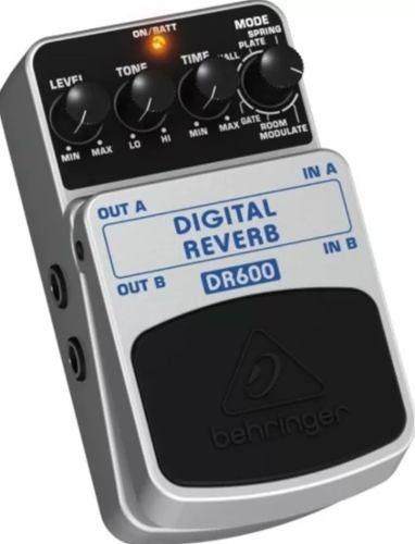 Pedal Behringer Dr600 Digital Reverb C/ 2 Anos De Garantia