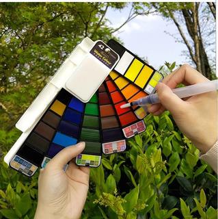 Set 10 Acuarelas Profesionales 42 Colores Portátil Mayoreo