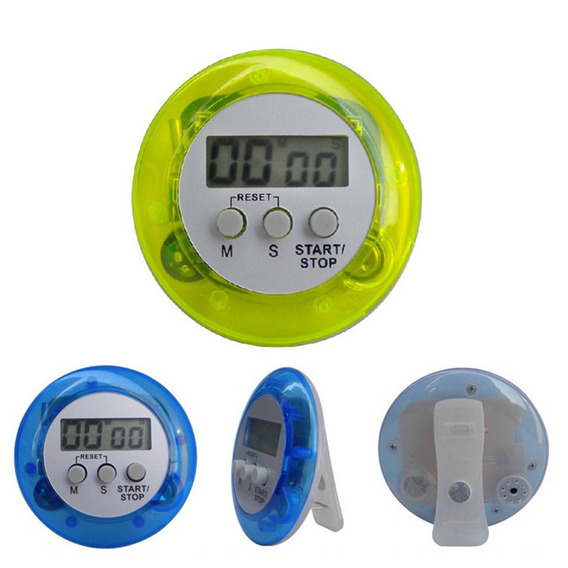Temporizador Relógio Lcd Digital Contagem Regressiva Alarme