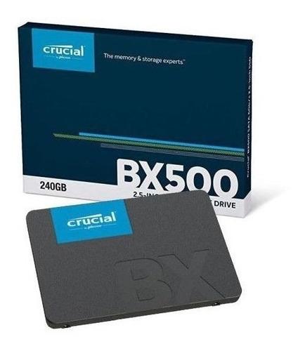 Ssd Crucial 240gb - Bx500 2.5