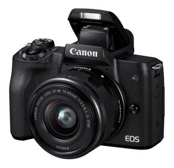 Canon EOS M50 15-45mm IS STM Kit sin espejo color negro