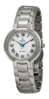 Reloj Bulova Diamond Precisionist 96r167 Mujer | Original