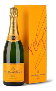 Champaña Champagne Veuveclicquot 750ml Yellowlabel +estuche